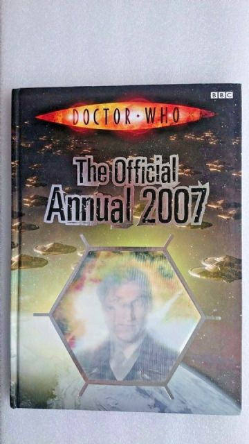 Doctor Who  Annual: 2007 by BBC (Hardback, 2006)